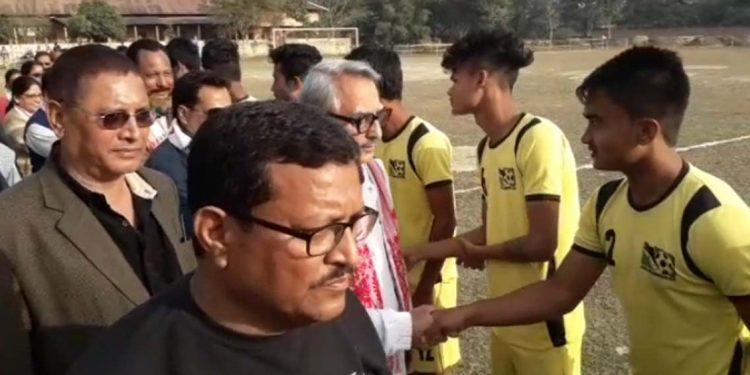 Football at Mangaldai