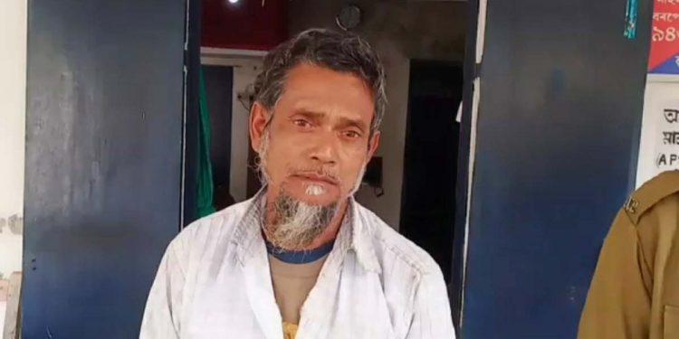 A man who killed his son