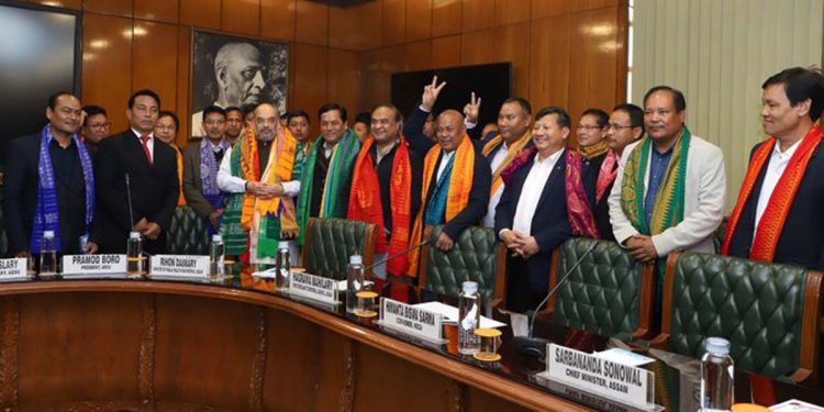 Bodo Peace Accord 2020: Demands resolved retaining territorial integrity of Assam, says Amit Shah 1