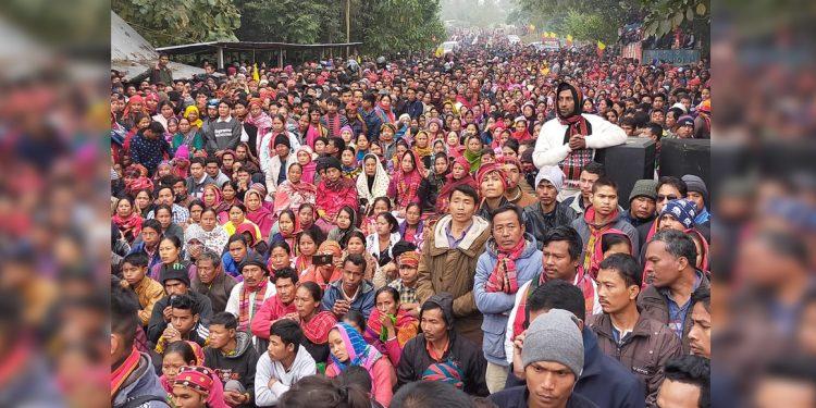 Anti-CAA rally in Tripura
