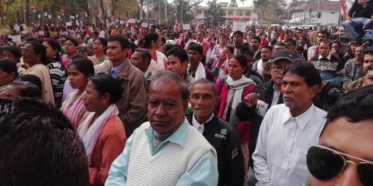 Assam Congress rally against CAA