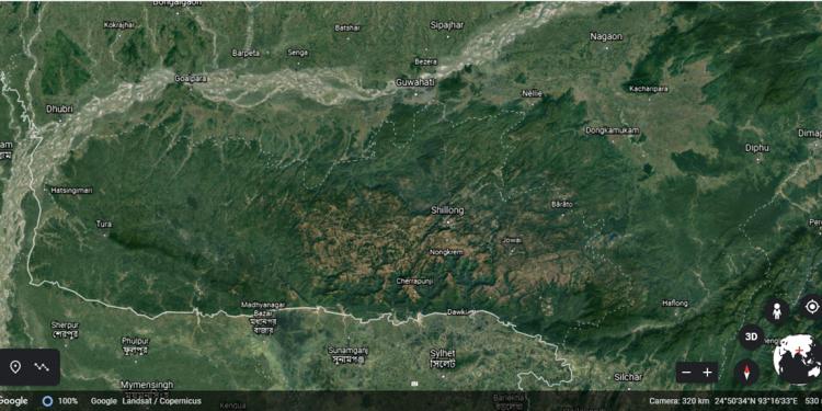 Assam-Meghalaya border