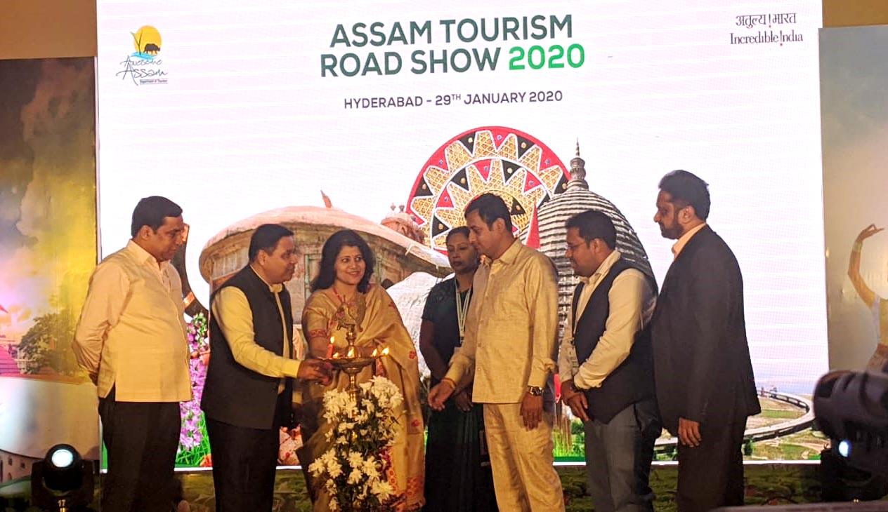 Leading tour operators participate in Assam Tourism's roadshow at Hyderabad 1