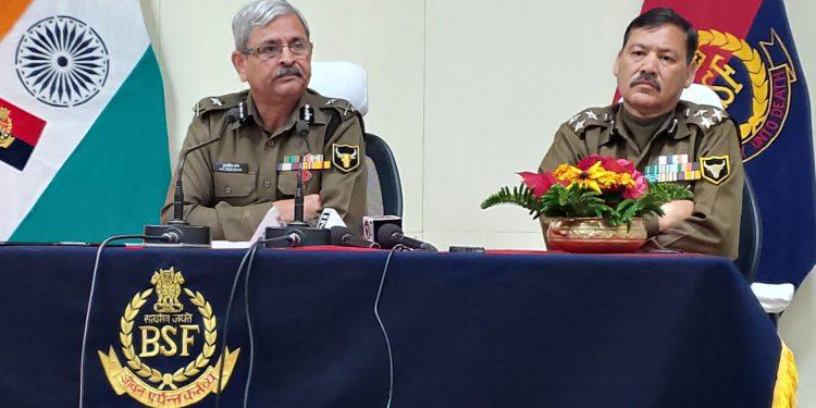 BSF Meghalaya frontier inspector general (IG) Kuldeep Saini.