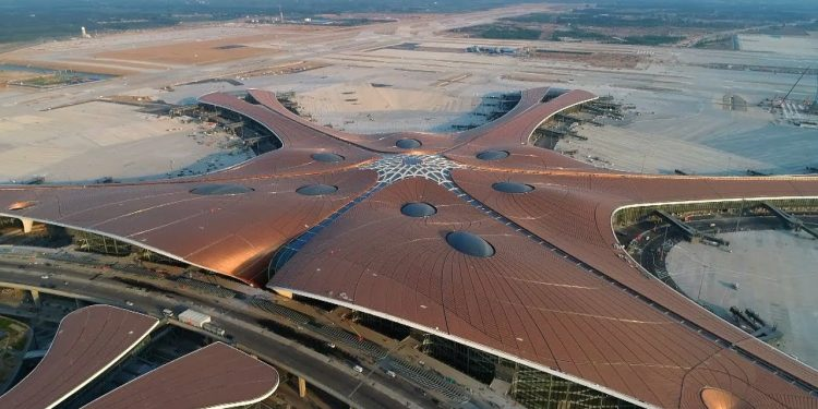 File image of Beijing Daxing International Airport. Image courtesy: Youtube
