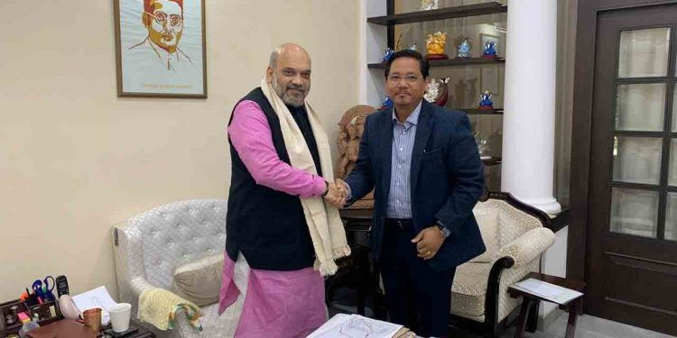 """Amit Shah """"non-committal"""" on implementing ILP in Meghalaya? 1"""