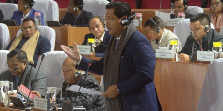 Chief minister Conrad K Sangma. (file image)