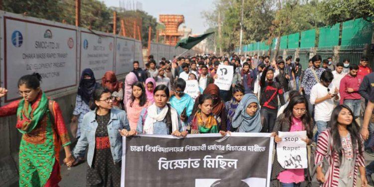 Dhaka University student's rape sparks massive protests 1