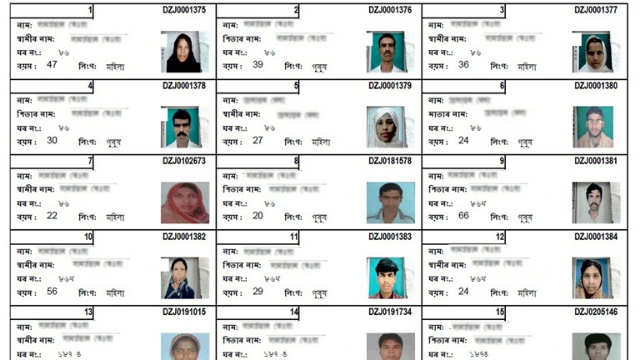 Publication of an erroneous draft electoral roll has added to the woes of people in Assam's Barpeta district.