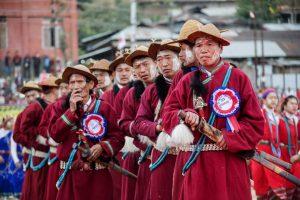 Arunachal CM attends Si Donyi fest 1