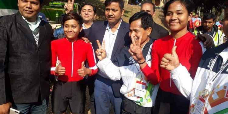 Assam cyclist wins gold at Khelo India 1