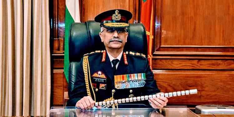 Army Chief Gen MM Navarane