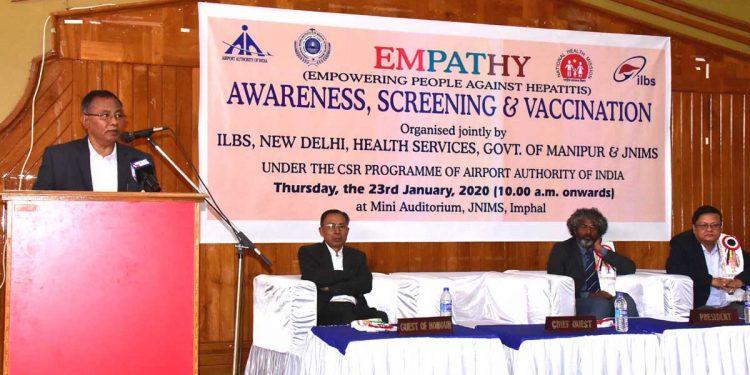 Manipur: Unknown disease surfaces in Ukhrul, expert team sent  1