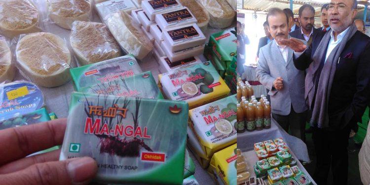 Manipur's herbal soap