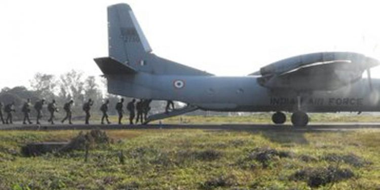 Indian Army s airborne exercise