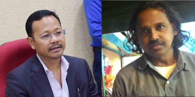 Meghalaya Home Minister and Shillong times editor