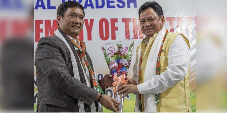 Arunachal Pradesh BJP president Biyuram Waghe