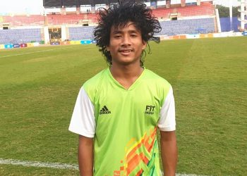 While Dipu Mirdha scored in the 32nd and 50th minutes, Uday Sankar Bora scored for the home side in the 42nd minute.