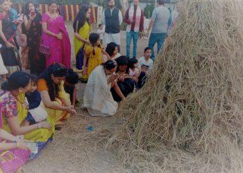 Assamese people residing in Pune witnessed a wonderful day long festivity on Sunday, with the celebration of Bhogali Bihu.
