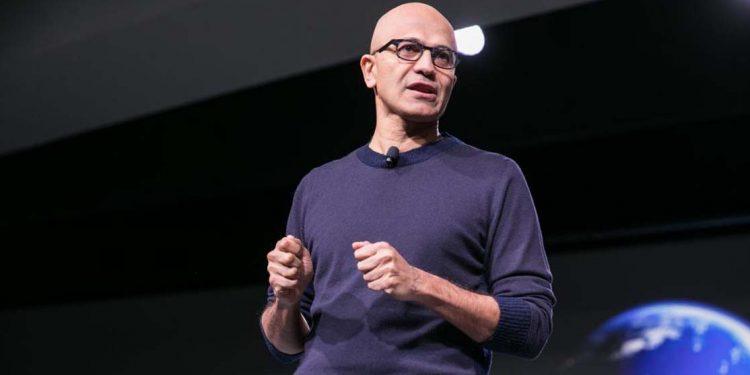 Microsoft CEO Satya Nadela