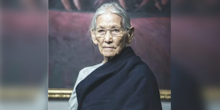 Nagaland CM's mother Kevilhounyii-ii Rio