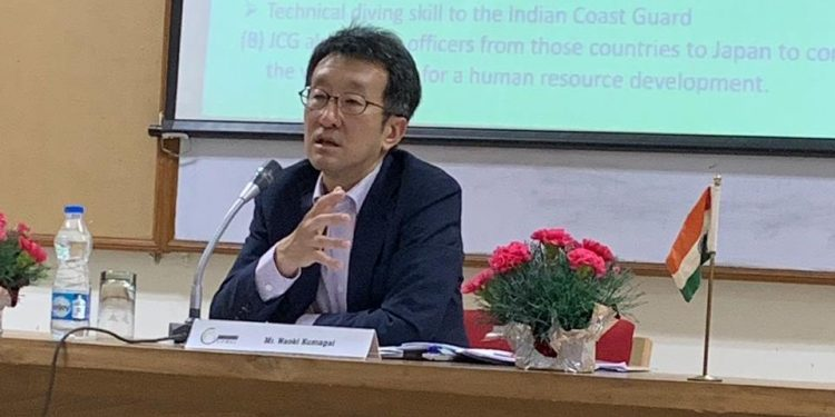 File image of Naoki Kumagai, minister for political affairs in Japan's embassy in New Delhi. Image courtesy: Twitter