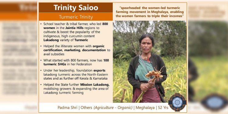 Journey of Trinity Saïoo: Leading Meghalaya farmers to Padma Shri 1