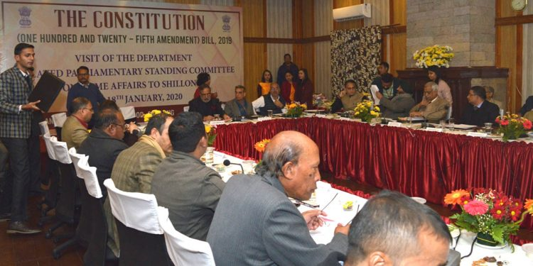 Parliamentary standing committee on sixth schedule
