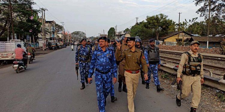 Security personnel in Dibrugarh