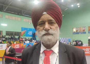 Pal Singh Sandhu is competiton manager at Khelo India