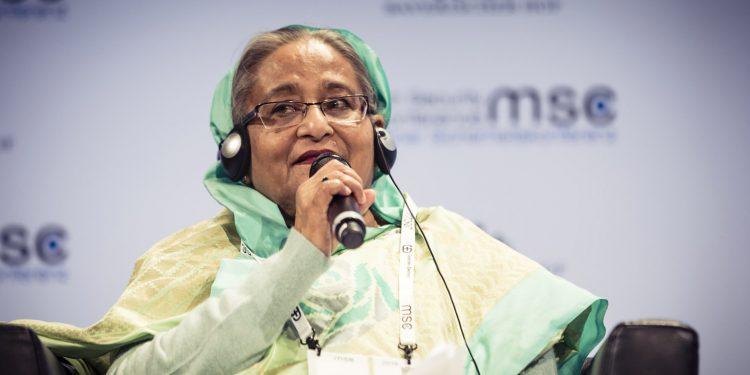 Sheikh Hasina (file image)