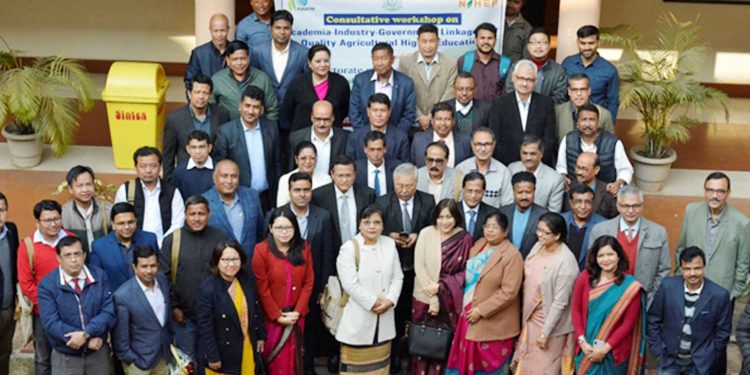 Participants of two-day workshop organised by AAU in Guwahati