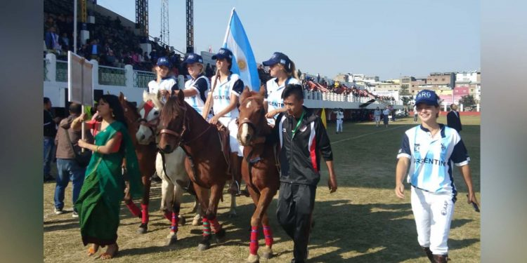 5th Manipur Statehood Day Women's Polo Tournament begins 1