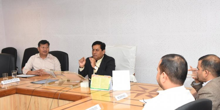 Assam CM Sarbananda Sonowal discussing on implementation of WPT & BC schemes
