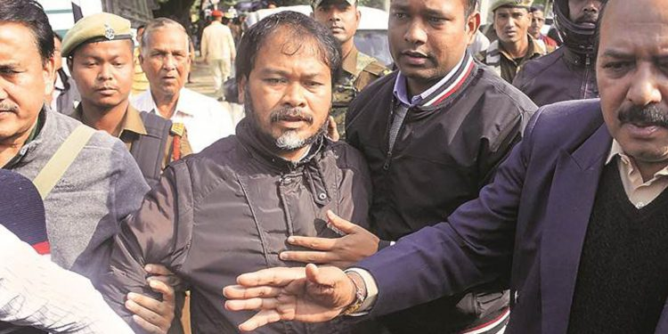 Akhil Gogoi. File image