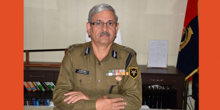 BSF Meghalaya Frontier Inspector General, Kuldeep Saini (File image)