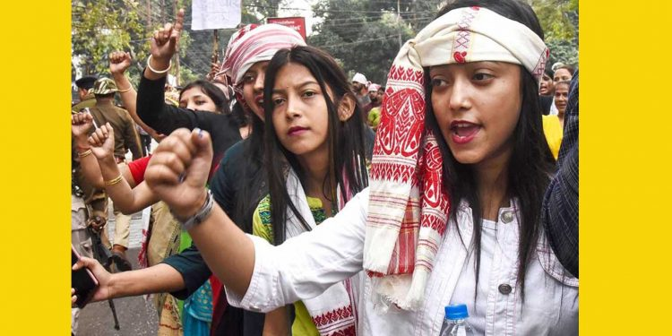 Students protesting against CAA (File image)