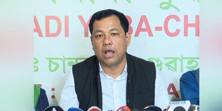 AJYCP general secretary Palash Changmai (File image)