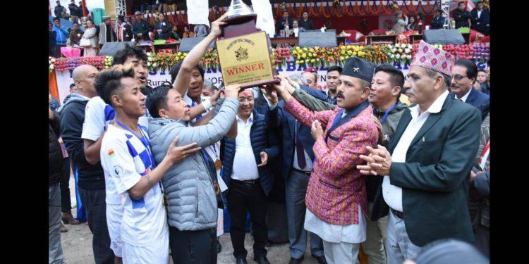 Sikkim: Zoom-Salghari wins inter-constituency football tournament 1