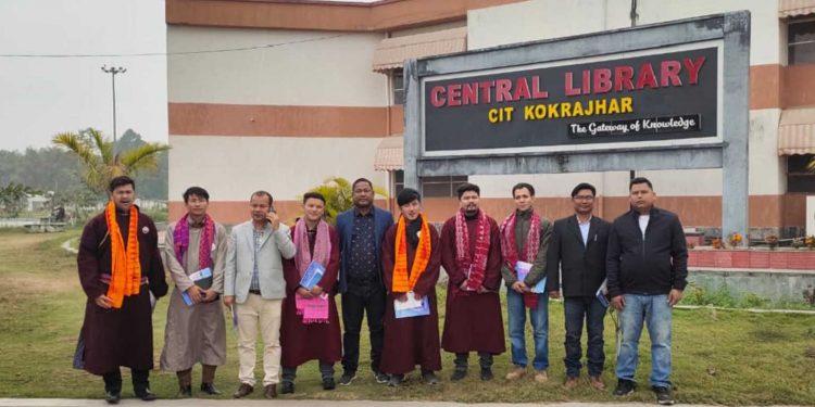 Delegation from Ladakh in CIT Kokrajhar. Image: Northeast Now