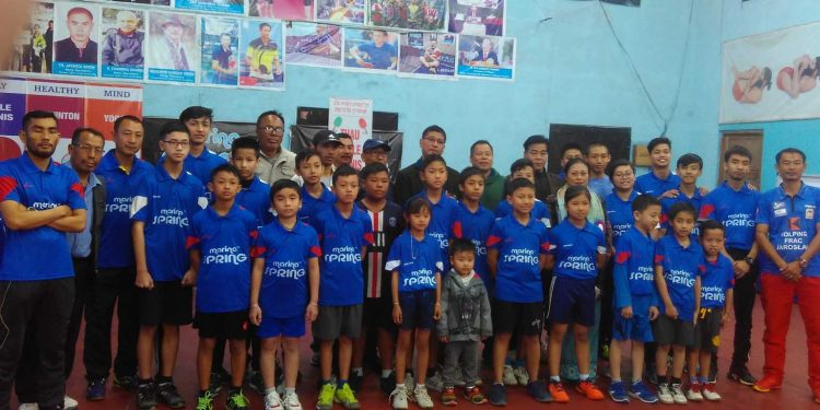 Participants of table tennis winter coaching camp. Image: Northeast Now