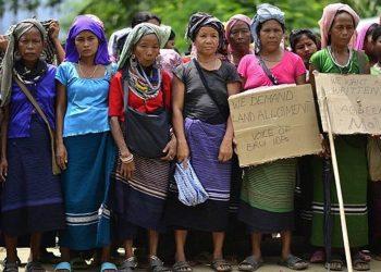 Bru refugees. File image