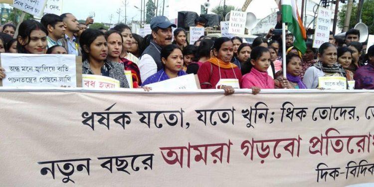 Tripura: Thousands join BJP MLA rally against crimes on women 1