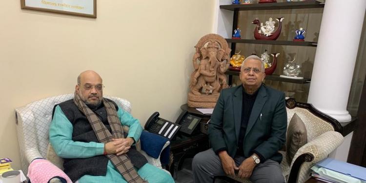 Tathagata Roy meets Amit Shah, may return to Shillong Raj Bhawan soon 1