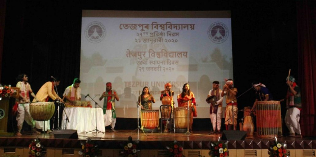Assam: Tezpur University observes 27th Foundation Day 2