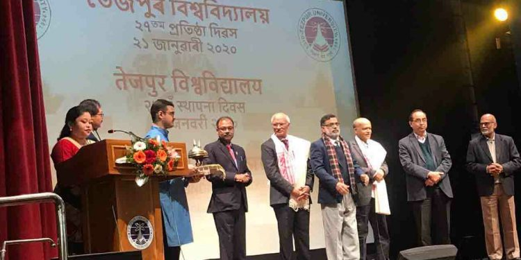Assam: Tezpur University observes 27th Foundation Day 1