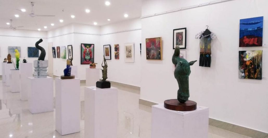 Exhibition displays art works of Assam's 50 celebrated artists 1