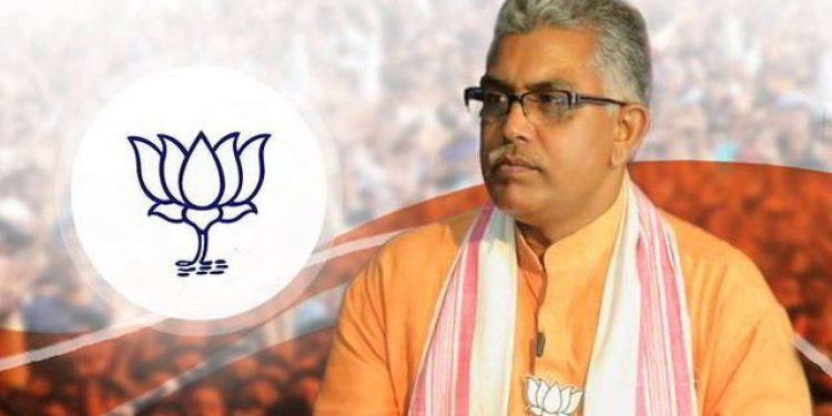 File image of West Bengal BJP chief Dilip Ghosh. Image courtesy: DNA India