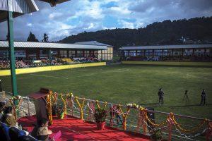 Arunachal CM dedicates stadium 3