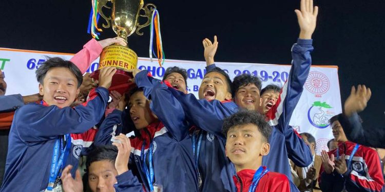 Sikkim emerge runners-up in U-17 Boys Football in National School Games 2020 1